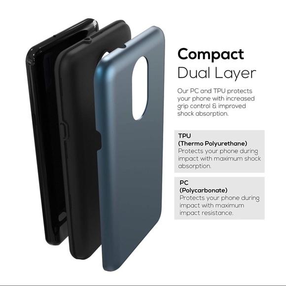 LG Stylo 4 / LG Q Stylus Phone Case blue